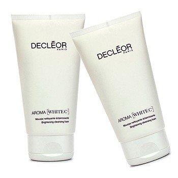 Decleor Aroma White C+ Brightening Cleansing Foam Duo Pack  2x150ml/5oz
