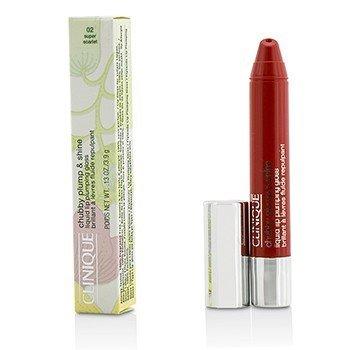 Clinique Chubby Plump & Shine Liquid Lip Plumping Gloss - #02 Super Scarlet  3.9g/0.13oz
