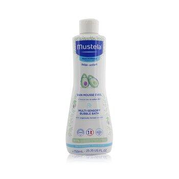 Mustela Multi Sensory Bubble Bath  750ml/25.35oz