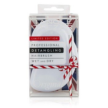 Tangle Teezer The Original Detangling Hair Brush - # Candy Cane (For Wet & Dry Hair)  1pc