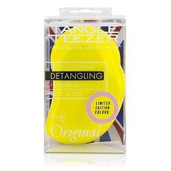 Tangle Teezer The Original Detangling Hair Brush - # Lemon Sherbet (For Wet & Dry Hair)  1pc