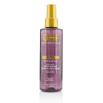 CHI Deep Brilliance Olive & Monoi Shine Serum Light Weight Leave-In Treatment  178ml/6oz