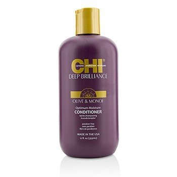 CHI Deep Brilliance Olive & Monoi Optimum Moisture Conditioner  355ml/12oz