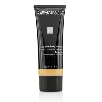 Dermablend Leg and Body Make Up Buildable Liquid Body Foundation Sunscreen Broad Spectrum SPF 25 - #Light Sand 25W  100ml/3.4oz