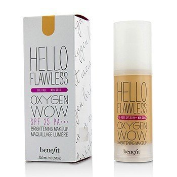 Benefit Hello Flawless Oxygen Wow Brightening Makeup SPF 25 (Oil Free) - # Cheers To Me (Champagne)  30ml/1oz