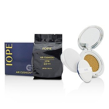IOPE Air Cushion SPF50 With Extra Refill - #N23 (Natural Beige)  2x15g/0.525oz