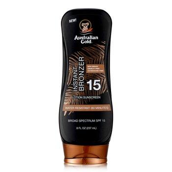 Australian Gold Lotion Suncreen With Bronzers SPF 15  237ml/8oz