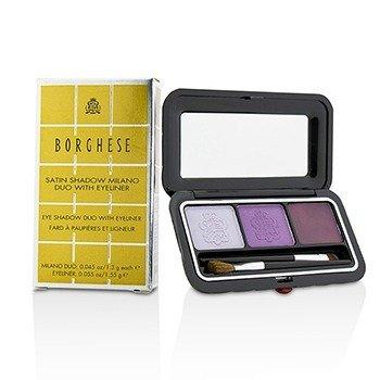 Borghese Eye Shadow Duo With Eyeliner - # 02 Venetian Violet  4.15g/0.145oz