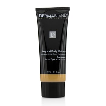 Dermablend Leg and Body Make Up Buildable Liquid Body Foundation Sunscreen Broad Spectrum SPF 25 - #Light Beige 35C  100ml/3.4oz