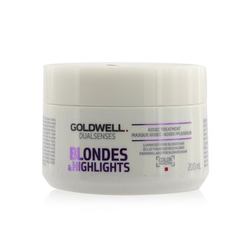 Goldwell Dual Senses Blondes & Highlights 60Sec Treatment (Luminosity For Blonde Hair)  200ml/6.8oz