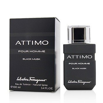 Salvatore Ferragamo Attimo Black Musk Eau De Toilette Spray  100ml/3.4oz