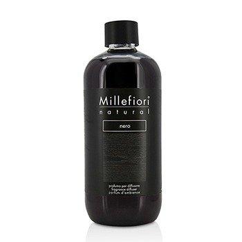 Millefiori Natural Fragrance Diffuser Refill - Nero  500ml/16.9oz
