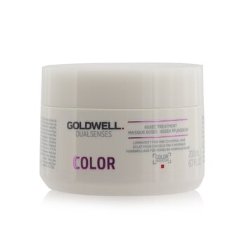 Goldwell Dual Senses Color 60Sec Treatment (Luminosity For Fine to Normal Hair)  200ml/6.7oz
