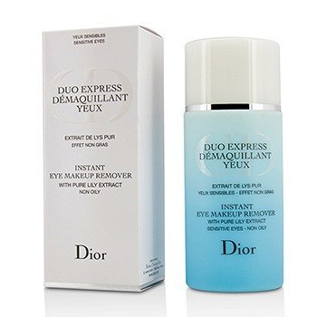 Christian Dior Duo Express Instant Eye Makeup Remover (Without Cellophane)  125ml/4.2oz