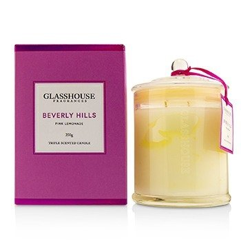 Glasshouse Triple Scented Candle - Beverly Hills (Pink Lemonade)  350g