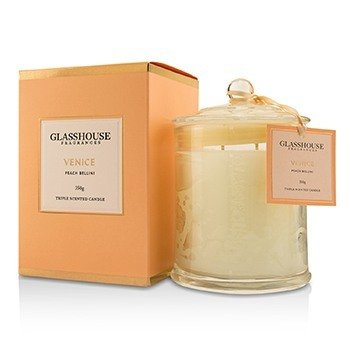 Glasshouse Triple Scented Candle - Venice (Peach Bellini)  350g