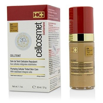 Cellcosmet & Cellmen Cellcosmet CellTeint Plumping Cellular Tinted Skincare - #04 Natural Tan  30ml/1.1oz