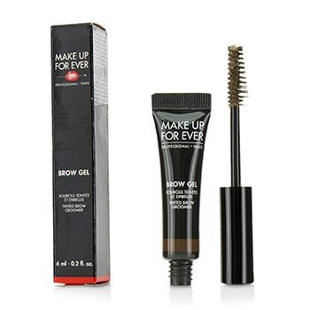 Make Up For Ever Brow Gel Tinted Brow Groomer - # 35 (Medium Brown)  6ml/0.2oz