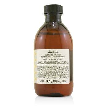 Davines Alchemic Shampoo - # Golden (For Natural & Coloured Hair)  280ml/9.46oz