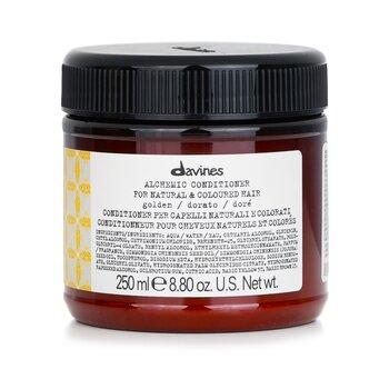 Davines Alchemic Conditioner - # Golden (For Natural & Coloured Hair)  250ml/8.84oz