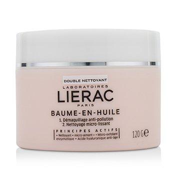 Lierac Double Nettoyant Baume-En-Huile Balm in Oil Double Cleanser  120g/4.23oz