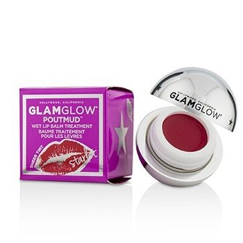 Glamglow PoutMud Sheer Tint Wet Lip Balm Treatment - Starlet  7g/0.24oz