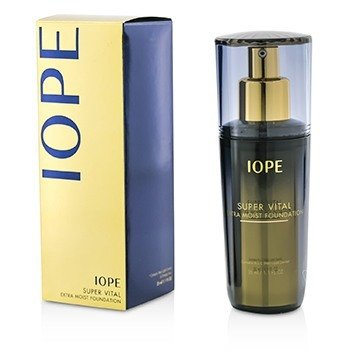 IOPE Super Vital Extra Moist Foundation SPF12 - # 23 True Beige (Exp. Date 03/2018)  35ml/1.1oz