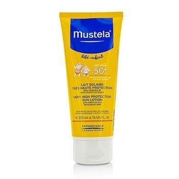 Mustela Very High Protection Sun Lotion SPF50+ - Sun Sensitive & Intolerant Skin  200ml/6.76oz