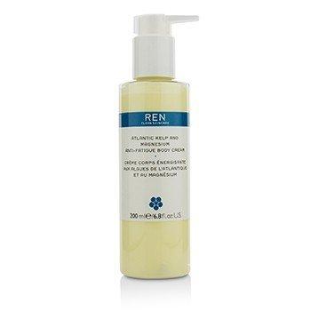Ren Atlantic Kelp And Magnesium Anti-Fatigue Body Cream  200ml/6.8oz