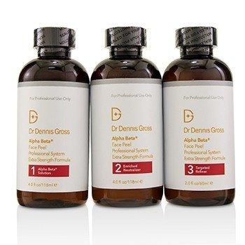 Dr Dennis Gross Alpha Beta Extra Strength Daily Peel 3 Steps - Salon Size  -