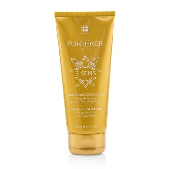 Rene Furterer 5 Sens Enhancing Shampoo (Frequent Use , All Hair Types)  200ml/6.7oz