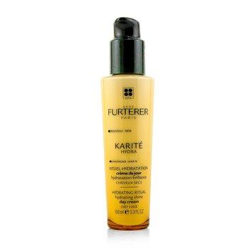 Rene Furterer Karite Hydra Hydrating Ritual Hydrating Shine Day Cream (Dry Hair)  100ml/3.3oz