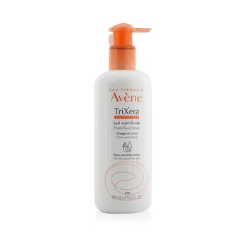 Avene TriXera Nutrition Nutri-Fluid Face & Body Lotion - For Dry Sensitive Skin  400ml/13.5oz