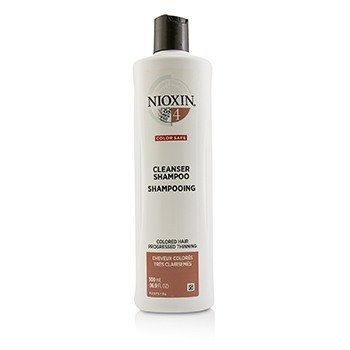 Nioxin Derma Purifying System 4 Cleanser Shampoo (Colored Hair, Progressed Thinning, Color Safe)  500ml/16.9oz