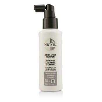 Nioxin Diameter System 1 Scalp & Hair Treatment (Natural Hair, Light Thinning)  100ml/3.38oz