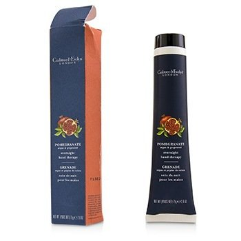 Crabtree & Evelyn Pomegranate, Argan & Grapeseed Overnight Hand Therapy (Box Slightly Damaged)  75g/2.6oz