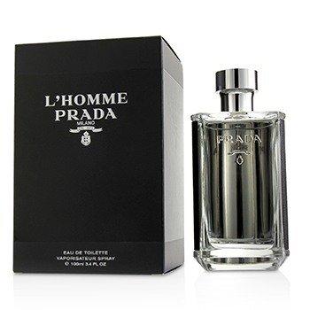 Prada L'Homme Eau De Toilette Spray  100ml/3.3oz
