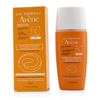 Avene Ultra-Light Hydrating Face Sunscreen Lotion SPF 50+  50ml/1.7oz