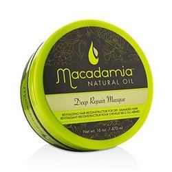 Macadamia Natural Oil Deep Repair Masque (For Dry, Damaged Hair)  470ml/16oz
