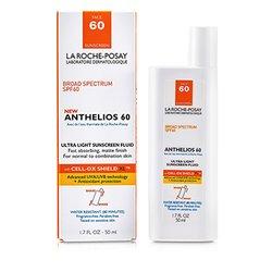 La Roche Posay Anthelios 60 Ultra Light Sunscreen Fluid (Normal/ Combination Skin)  50ml/1.7oz