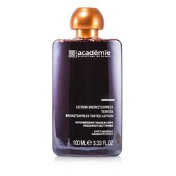 Academie Bronz' Express Face and Body Tinted Self-Tanning Lotion  100ml/3.33oz