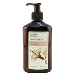 Ahava Mineral Botanic Velvet Body Lotion - Hibiscus & Fig  400ml/13.5oz