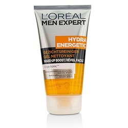 L'Oreal Men Expert Hydra Energetic Wake-Up Boost Cleansing Gel  150ml/5oz