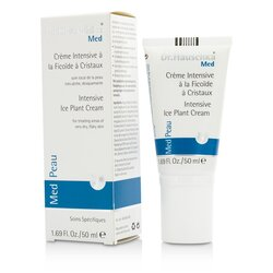 Dr. Hauschka Med Intensive Ice Plant Cream (For Very Dry & Flake Skin)  50ml/1.69oz