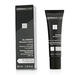 Dermablend Blurring Mousee Camo Oil Free Foundation SPF 25 (Medium Coverage) - #0C Ivory  30ml/1oz