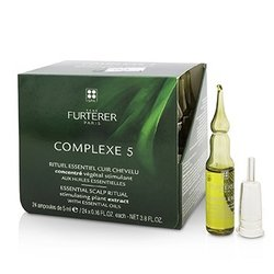 Rene Furterer Complexe 5 Essential Scalp Ritual Stimulating Plant Extract with Essential Oils  24x5ml/0.16oz