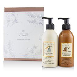 Crabtree & Evelyn Gardeners Hand Collection: Hand Therapy 250g + Hand Soap 300ml  2pcs