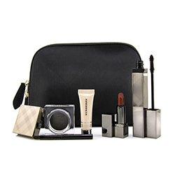 Burberry MakeUp Set (1x Lip Colour, 1x Base, 1x Mascara, 1x Eye Shadow)  4pcs+1bag