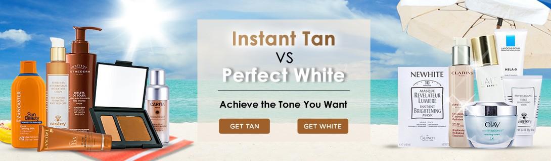 Get tan get white - banner