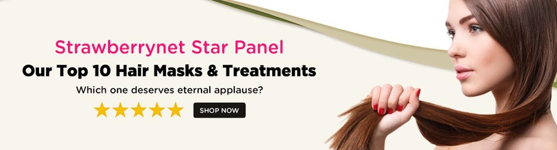 star panel hair masks